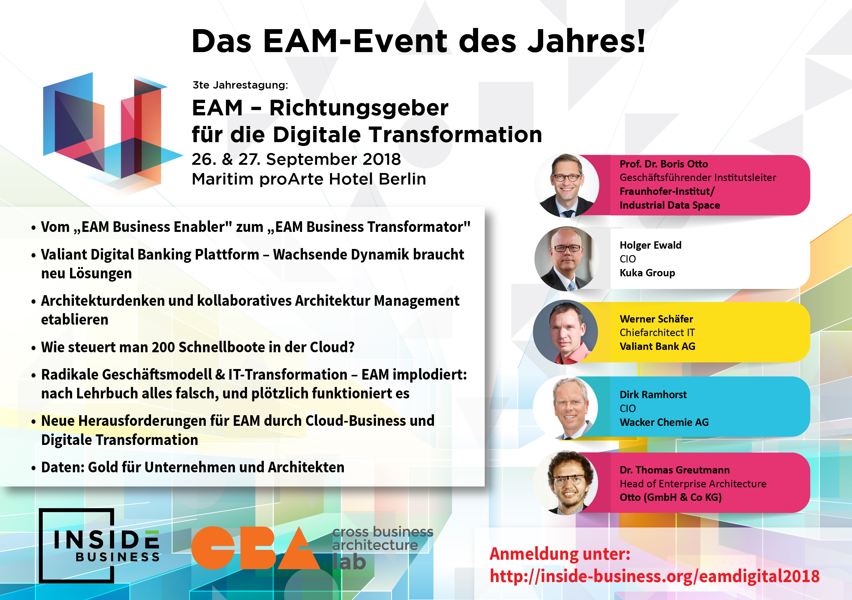 Flyer Konferenz EAM
